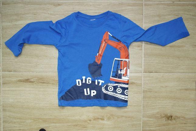 Niebieska bluzeczka 104