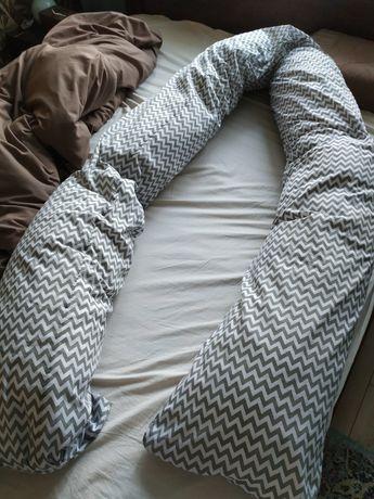 Poduszka ciążowa do karmienia