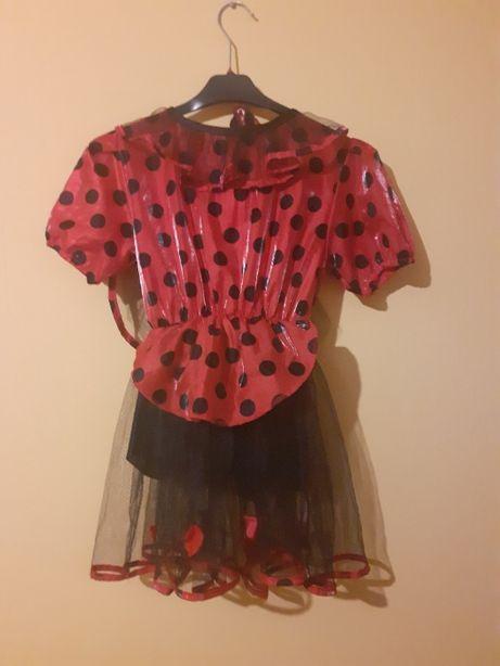 Strój (kostium) biedronki dla dziewczynki