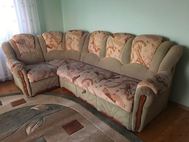 Продається м'яка частина (кутовий диван+крісло)