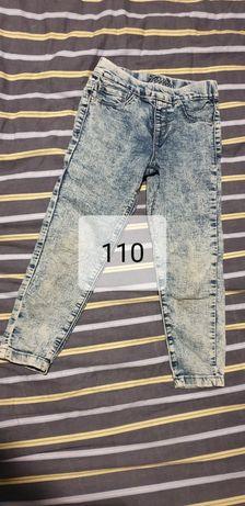 Spodnie dla dziewczynki rozmiar 110