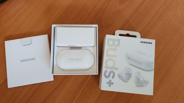 Słuchawki Galaxy Buds plus białe gwarancja