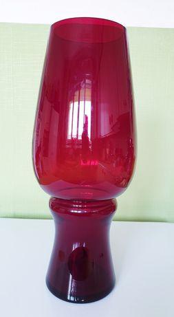Wazon gigant szkło kolorowe Ząbkowice Fiedorowicz