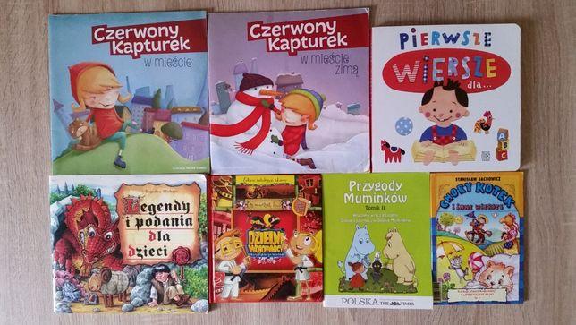 7 książeczek dla dzieci + mini puzzle Scooby- Doo