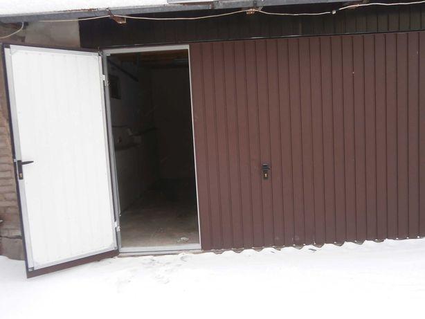 garaż-magazyn murowany