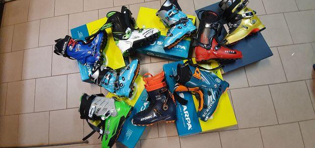 narty skiturowe buty skiturowe