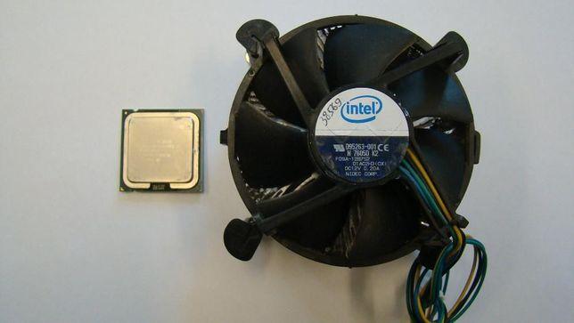 Процессор INTEL Pentium Dual Core E2160 с кулером