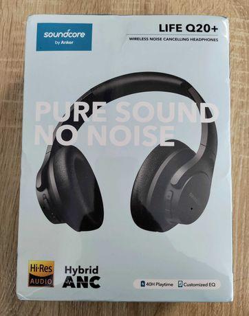 Наушники Anker Soundcore Life Q20+ с активным шумоподавлением
