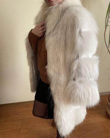 Продам ексклюзивну шубу - полярна лисиця / шуба белая полярная лиса