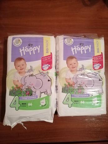 Подгузники Happy 4