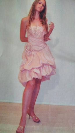 Авторская модель выпускного платья