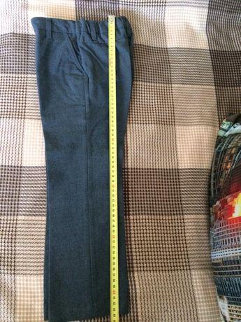 Серые брюки на рост 116см