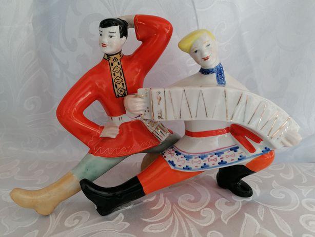 Połonne porcelanowa figurka grajków polecam grajkowie