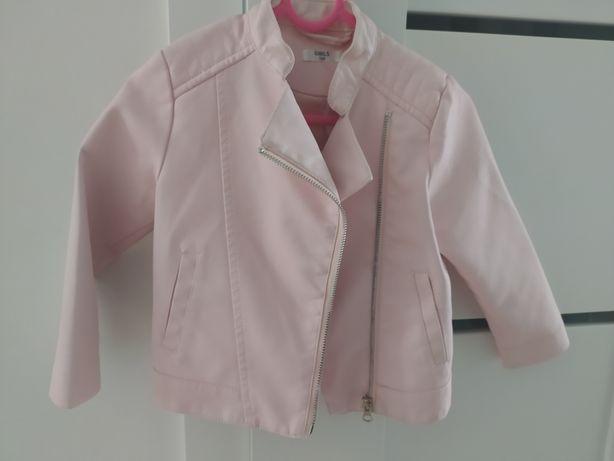 Ramoneska różowa kurtka rozm. 104