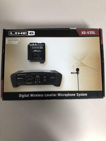 Microphone Sem-fios Line6 XD-V35L (lapela)
