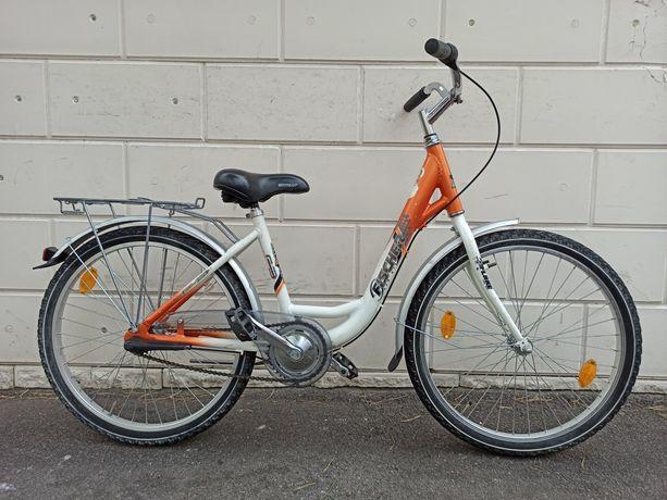 Велосипед подростковый 24alu+3 передачи Германия