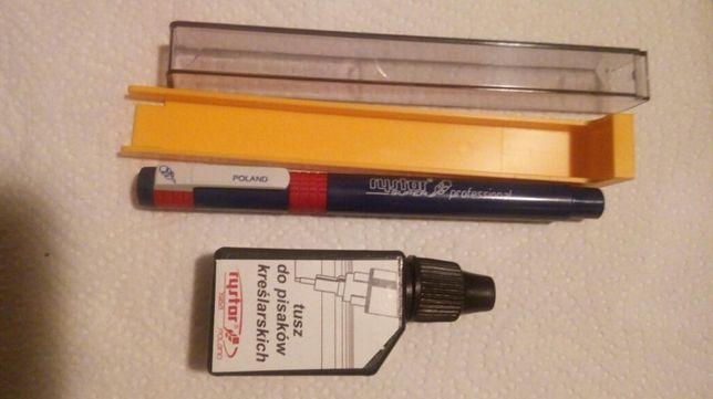 Do zdobień wzorów - Rapidograf Rystor 18mm + tusz