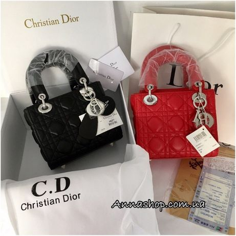 Сумка, клатч Диор Dior кожаная  натуральная кожа