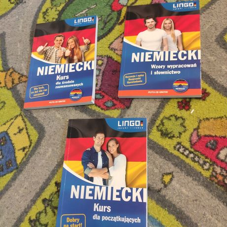 Książki do angielskiego i niemieckiego