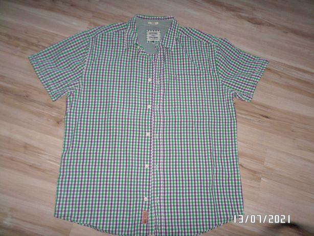 firmowa męska koszula - Wrangler -bawełna-L