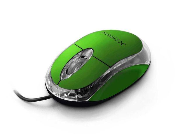 Myszka przewodowa Extreme zielona