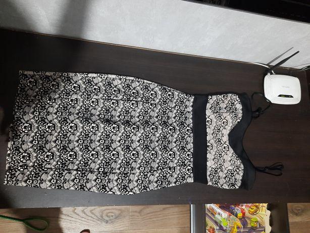 Нарядное стрейчевое платье