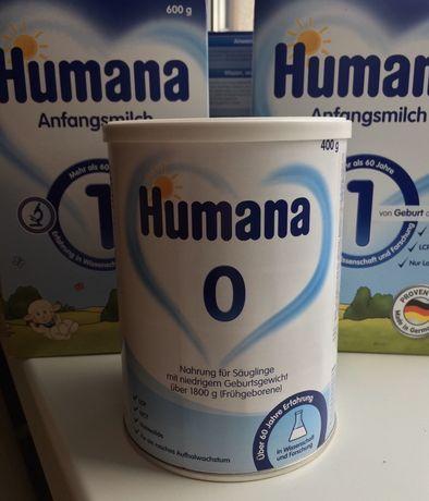 Суха молочна суміш Humana 0 400гр (Німеччина)