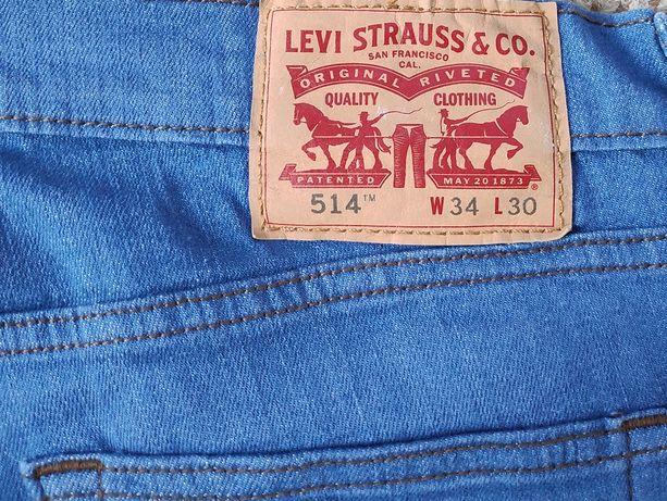 Оригинал LEVI'S 514 джинсы W34 L30