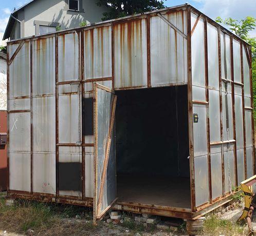 Magazyn Blaszak Garaż Domek na budowę na działkę do ogródka