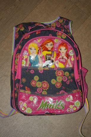 """Рюкзак детский школьный для девочек """"Winks"""" в хорошем состоянии"""