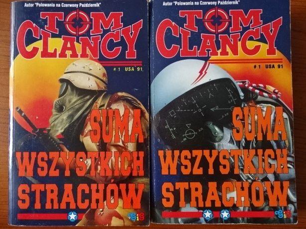Suma Wszystkich Strachów - Tom Clancy ( I wydanie )