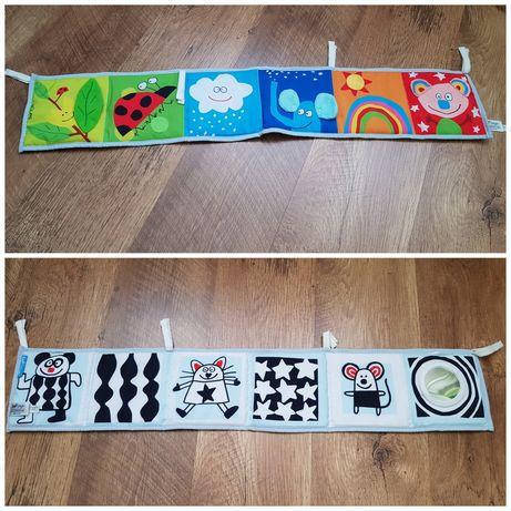 Контрастная книжка для малышей taf toys