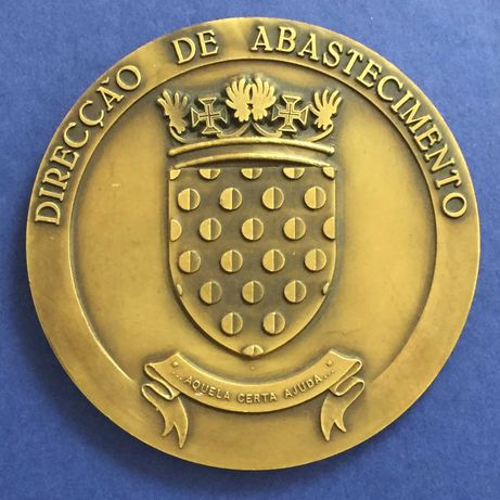 medalha - Força Aérea Portuguesa-Direcção de Abastecimento - 85mm