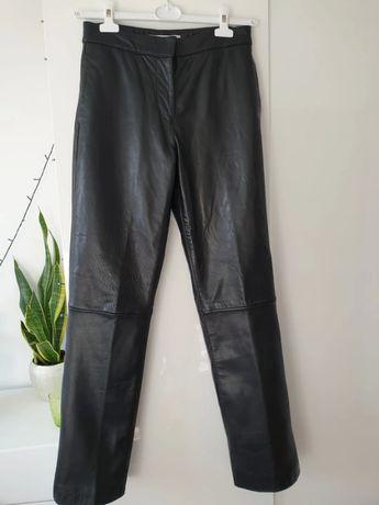 Spodnie skórzane prawdziwe