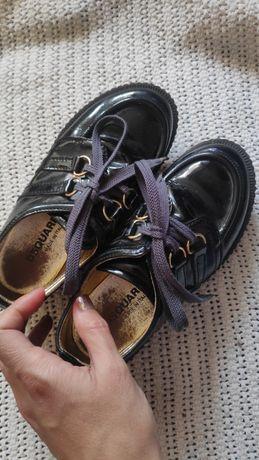Туфли детские на сменку в школу, 19 см
