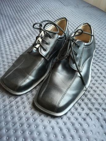 Buty do garnituru, buciki garniturowe chłopięce