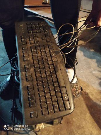 Komputer monitor klawiatura