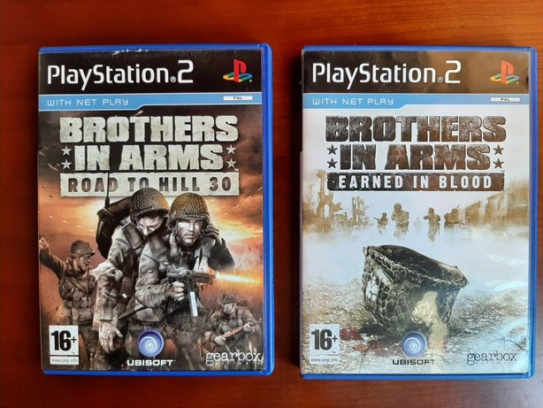 Pack Brothers in Arms playstation 2