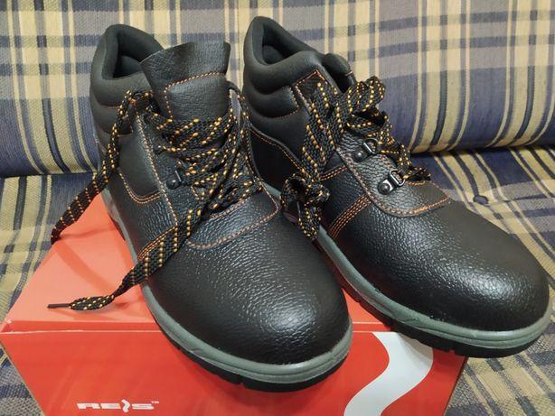 Ботинки рабочие BROPTIREIS кожаные(польша)