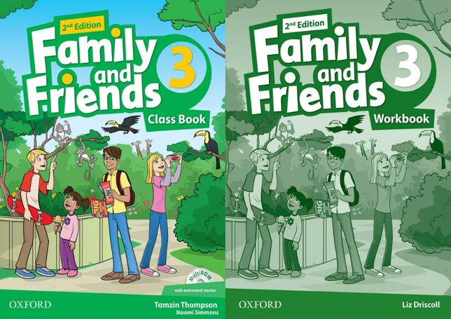 Family and Friends 3: ClassBook + Workbook + CD 2-nd edition