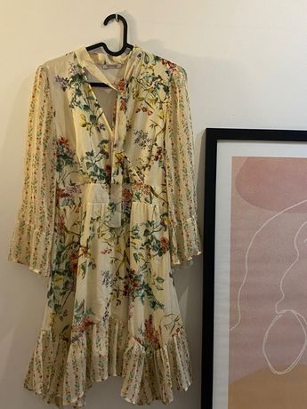 Wiosenno-letnia sukienka