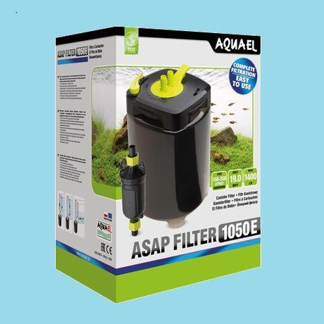 Filtr zewnętrzny AQUAEL ASAP1050 moc 1400l/h 11W Gwarancja doortodoor