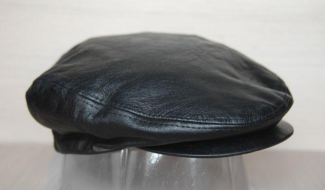 Кожаная кепка westbury натуральная кожа