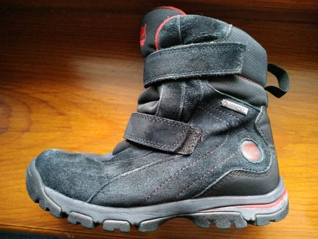 Ботинки замш зима Timberland, 22 см
