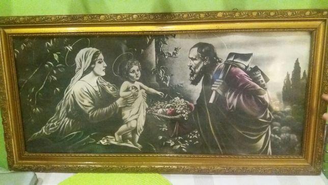Piękny obraz ŚWIĘTA Rodzina