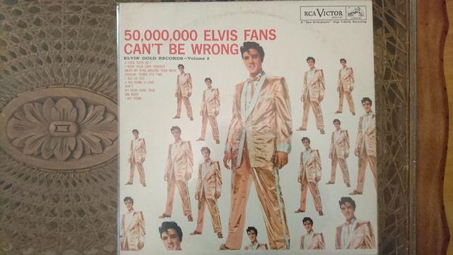 Elvis Presley, 50,000,000 Elvis Fans Can't Be Wrong (Elvis' Gold Recor