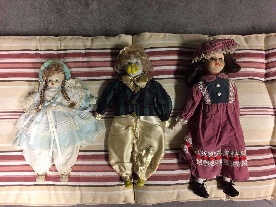 Vendo conjunto de 3 bonecas em porcelana Cidade Da Maia - imagem 1