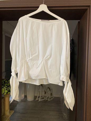Koszula ZARA biala prawie nowa rozmiar XL