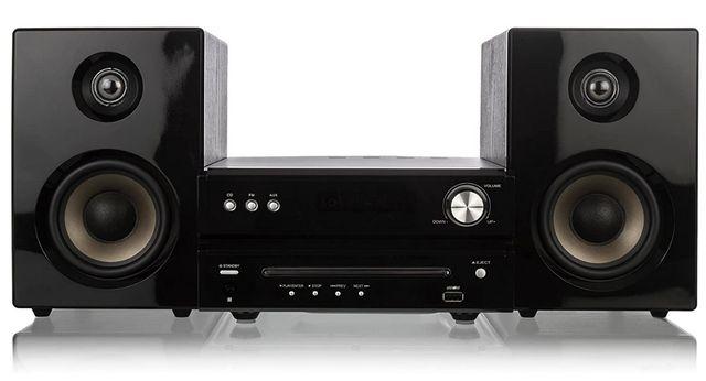 Mini Wieża Dual DVD-MS 110i CD -MP3, USB MP3, iPhone, iPod