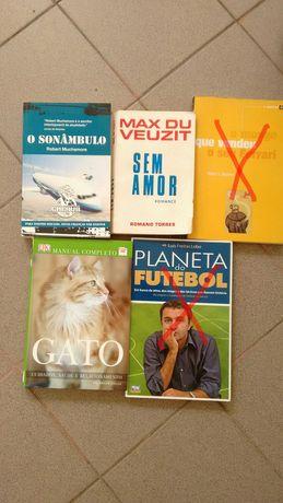 Livros de 2,50 a 5 euros